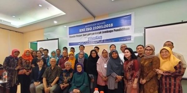 DPW Mastan Jatim Gelar Workshop SNI ISO 21001:2018